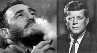 Fidel Castro & John F Kennedy