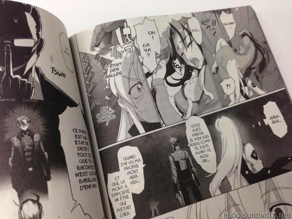 Triage X Manga B