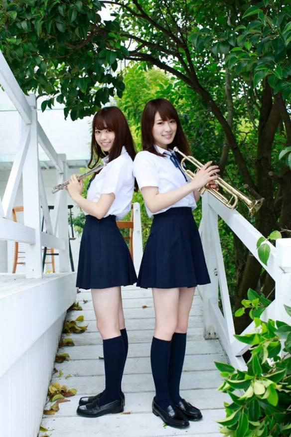 Nishino Nanase & Kazumi Takayam Nogizaka46