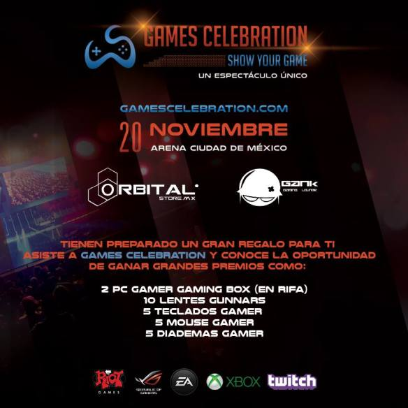 Games Celebration Mexico 2015