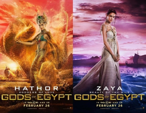 Elodie Yung & Courtney Eaton Gods of Egypt