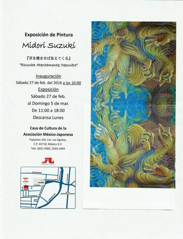 Exposicion de Pintura Midori Suzuki