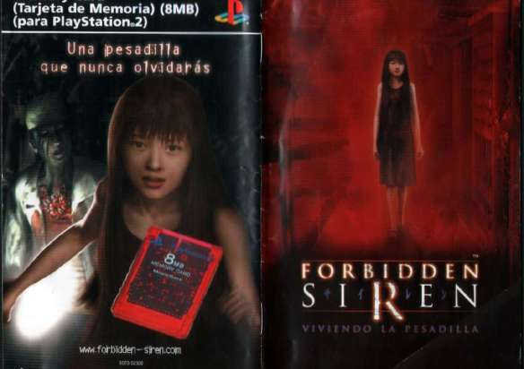 Survival Horror Forbidden Siren