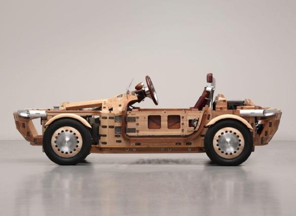Carro japones de madera B