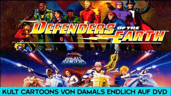 Defenders Of The Earth & Galaxy Rangers