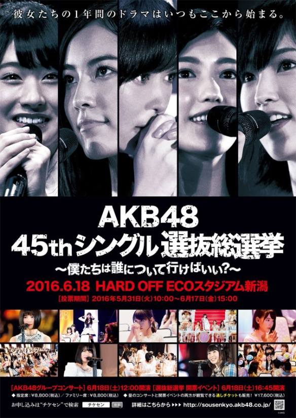 AKB48 45th single General Election