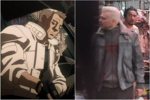 Ghost in the sell Live Action Batou Agent