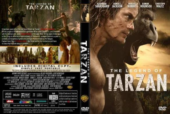 The legend of Tarzan 2016 B